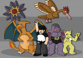Pokemon Team by Leonidash15