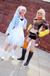 Weiss and Yang cosplay - Manchester Expo 2014 by LittleGeeky