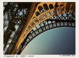 Eiffel tower by bracketting94