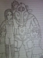 Bioshock 2 - Family pic by moI-129