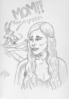 Mother Of Dragons by CoonDog69