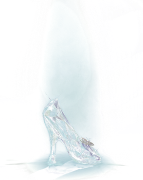 Cinderella's glass slipper-2015 PNG by nickelbackloverxoxox