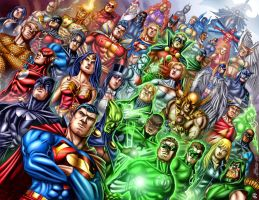 Marc Ferreira's DC Characters by StriderDen