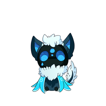 Custom Koshi: Raindrop Koshi for Cutevulpix56 by Littlelostdemonchild