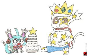 Meet the Slime Nekofi - King Neko-slime by eshonen