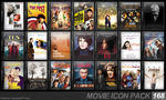 Movie Icon Pack 168 by FirstLine1