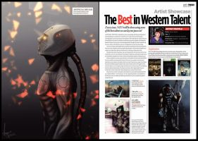 My NEO Magazine Feature Issue 107 Pages 54 / 55 by AaronQuinn