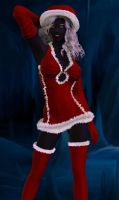 Drow Santa Claus 2011 by Riveda1972