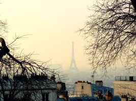 Paris by Melancholy-art