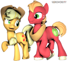 A Bigmac with apples by Longsword97