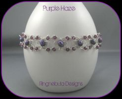 Purple Haze Bracelet by ringnebula