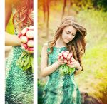 Bouquet of radishes by Tamerlana