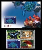 Endangered Species Stamps by jazzynadz