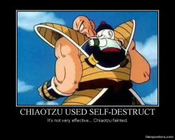 Wild Nappa Appeared! by SycoMantis91