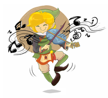 Windwaker Art Jam: Fado by verna-c