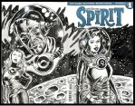 Spirit Sketch Cover Ed Catto (ala Wally Wood) by EdCatto