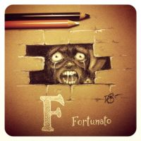 F is for Fortunato by Disezno