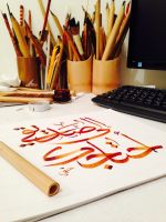 To a friend by calligrafer