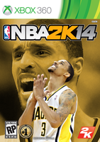 George Hill NBA2K14 Cover - XBOX360 by 1madhatter