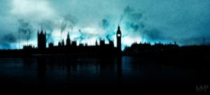 Dark Houses of Parliament by P-MassManPro