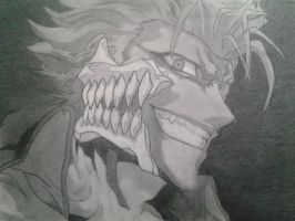 Grimmjow Drawing by NapoleonKiller