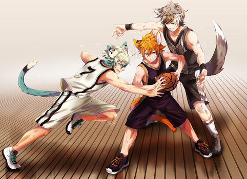 Basketball Boys by chisacha