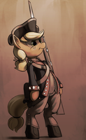 Old Guard Applejack by DimFann