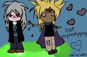 Dat psychoshipping by WakoBitchy