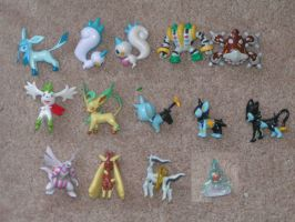 Sinnoh Figure Collection by doryphish333