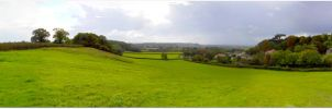 Panoramic - Rolling Hills by frankcom