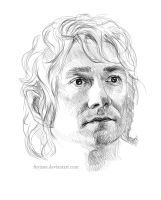 Bilbo Sketch by Feyjane
