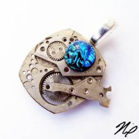 Steampunk 3D Pendant by Create-A-Pendant