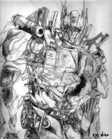 Optimus Prime by kalnobe