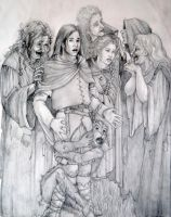 Old Prydain Stuff: Fates by saeriellyn