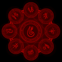 Fire Spell Circle by Celesta1805