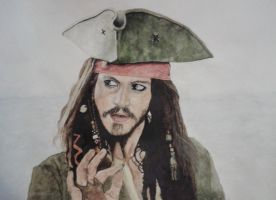 Jack Sparrow by FinnViking