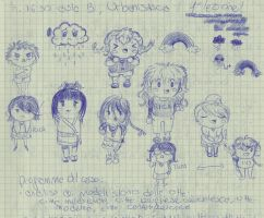 original character chibis by PiccolaGhI