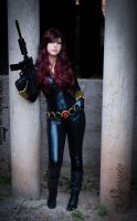 Black Widow by Shermie-Cosplay