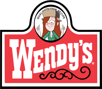 Gravity Falls Wendy's Old Fashioned Hamburgers by MisterAlex