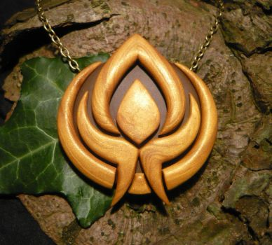 Battleborn: Eldrid Faction - handmade Necklace by Ganjamira