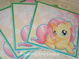 Fluttershy Badges by Clinkorz