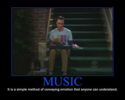 Music Motivational Poster by QuantumInnovator