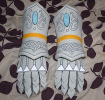SATBK - Sir Percival Gauntlets FIN by Mew-Mew-Rocky