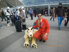 Giovanni and Persian at London MCM Expo Oct 2012