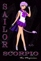 Sailor Scorpio by Grinning-Kitty87