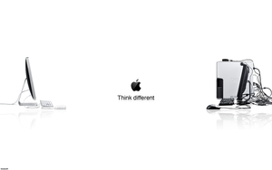 Apple vs. Dell 1280x800 by aryayush