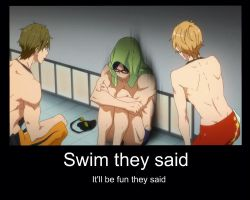 Free! - demotivational by Sloartist-Raven