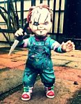 Mezco Chucky Figure 2 by SquirrelCat1998V2