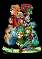 Ocarina Of Time by JFRteam