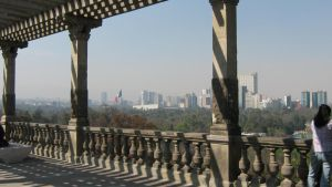 Chapultepec's Castle -View by lunacarmin